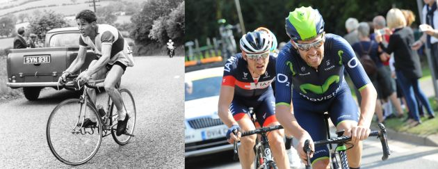 Photo: Movistar rider Alex Dowsett aiming for rescheduled UCI Hour Record attempt after collarbone recovery.