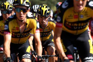 Primoz Roglic (Jumbo-Visma) at the Vuelta a Espana