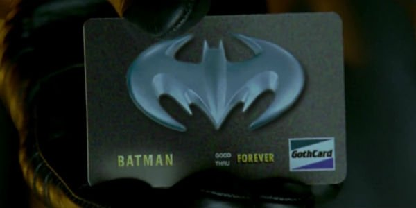 Batman & Robin Bat Credit Card