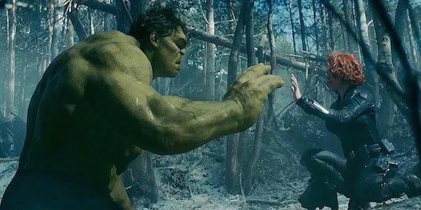 Hulk and Black Widow Age of Ultron