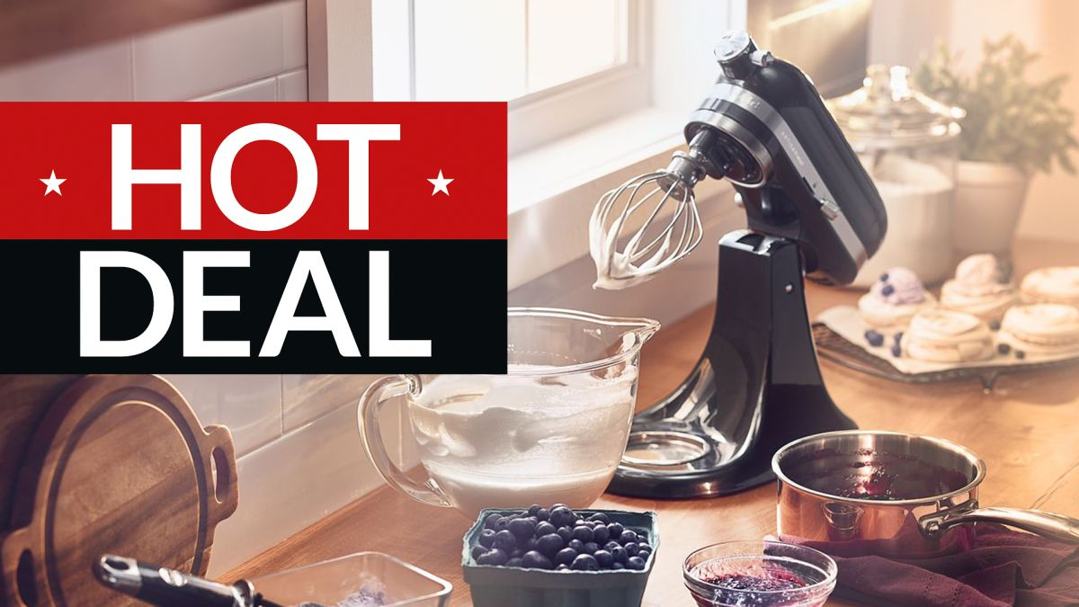 Best KitchenAid Artisan stand mixer deal in the January sales: £200 off the world's favourite blender