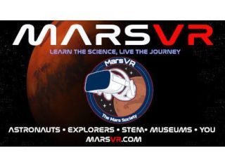 The Mars Society unveiled a crowdfunding campaign for MarsVR.