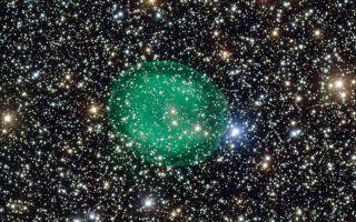 Planetary Nebula IC 1295 space wallpaper