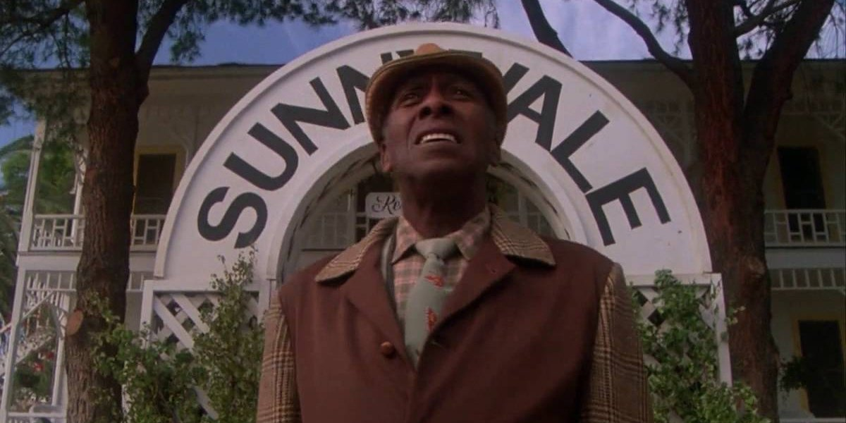 "Scatman Crothers in ""Kick the Can,"" Steven Spielberg's segment from Twilight Zone: The Movie"
