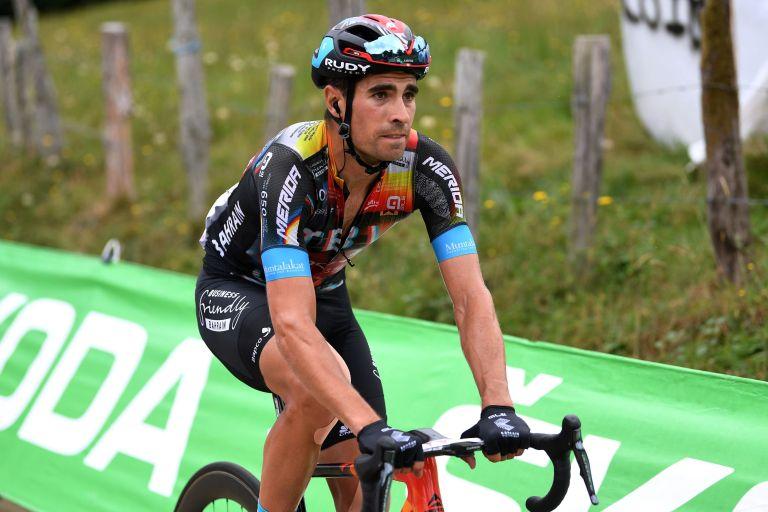 Mikel Landa at the Vuelta a España 2021