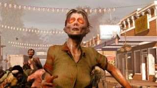 A zombie looks on in State of Decay.