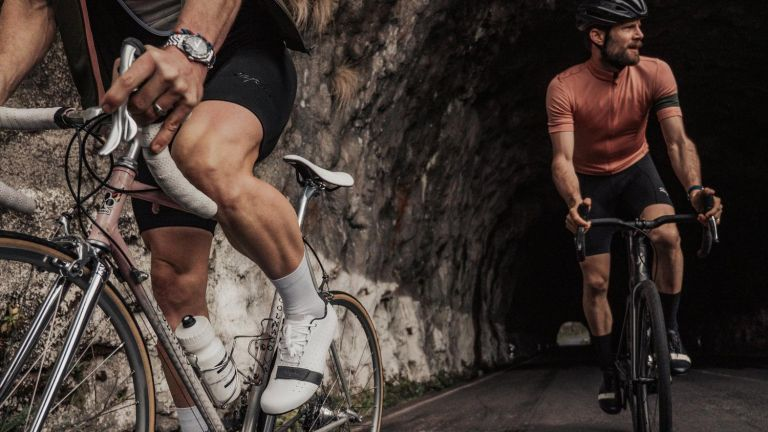 the Best cycling shorts can make longer bike rides more comfortable, just how these two people, riding their bikes through a tunnel,, look rather cosy in theirs