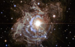 RS Puppis Hubble Image