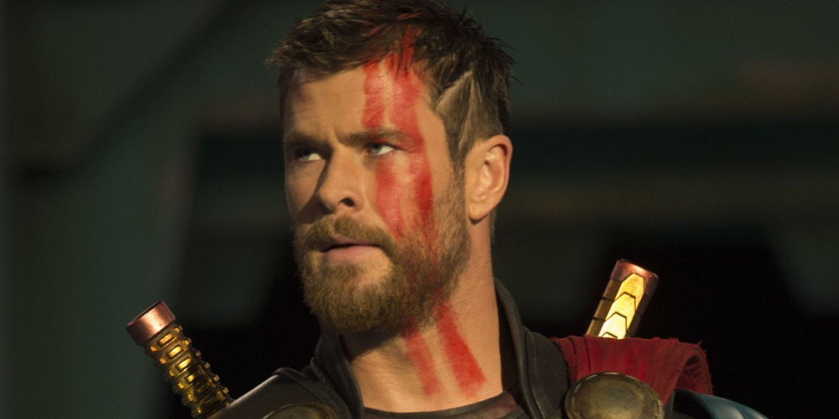 Chris Hemsworth as Thor in Thor: Ragnarok (2017)