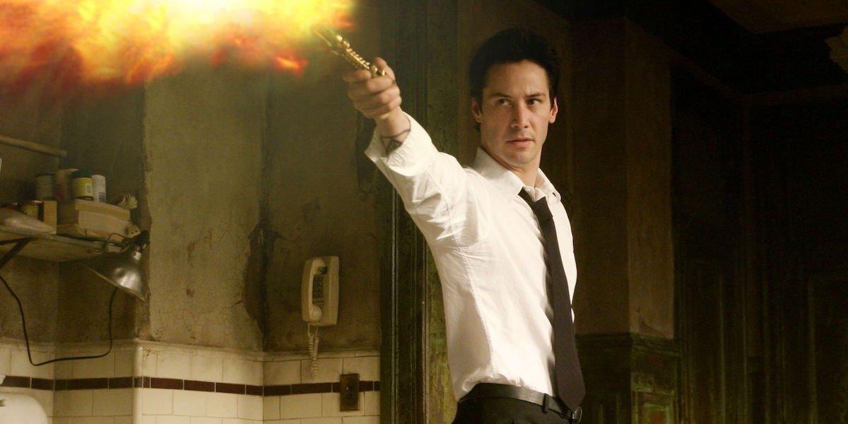 Keanu Reeves as John Constantine
