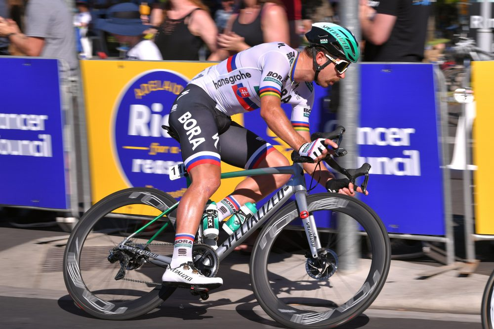 Peter Sagan Riding Specialized Allez Sprint Bike In The