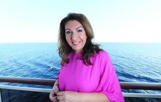 Going back to where it all began, Jane McDonald takes to the high seas once again
