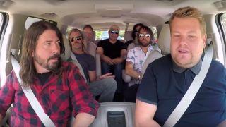 Foo Fighters with James Corden on Carpool Karaoke
