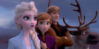 the group together in Frozen II