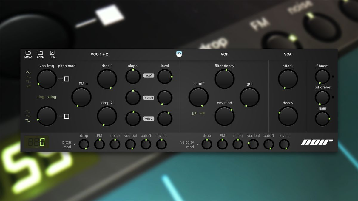 Bram Bos turns to the dark side with the Ruismaker Noir iOS rhythm synth