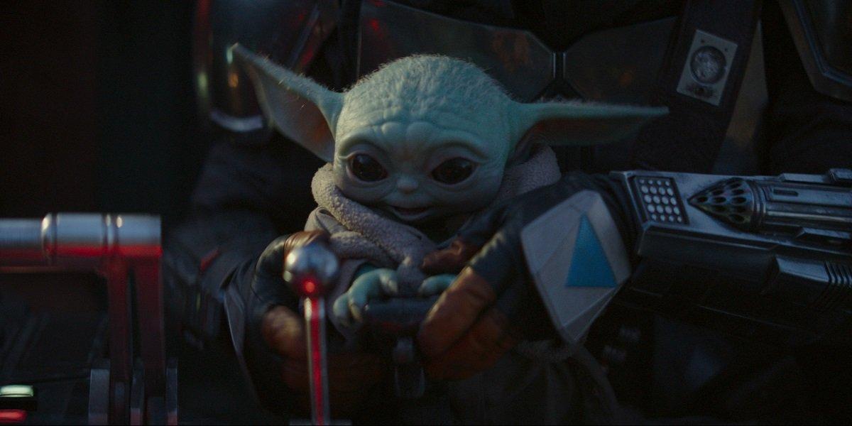 Baby Yoda The Mandalorian Disney+