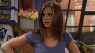 Rachel Green (Jennifer Aniston) looks confused on Friends