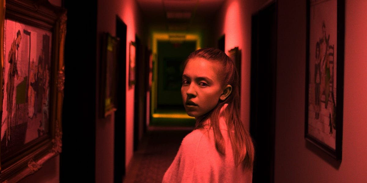 Sydney Sweeney in Nocturne , Welcome to the Blumhouse