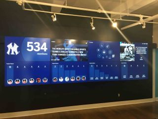 Peerless-AV Helps Sprinklr Install Large Video Wall in NYC Headquarters
