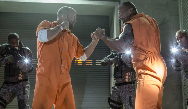 Jason Staham and The Rock in Fate Of The Furious