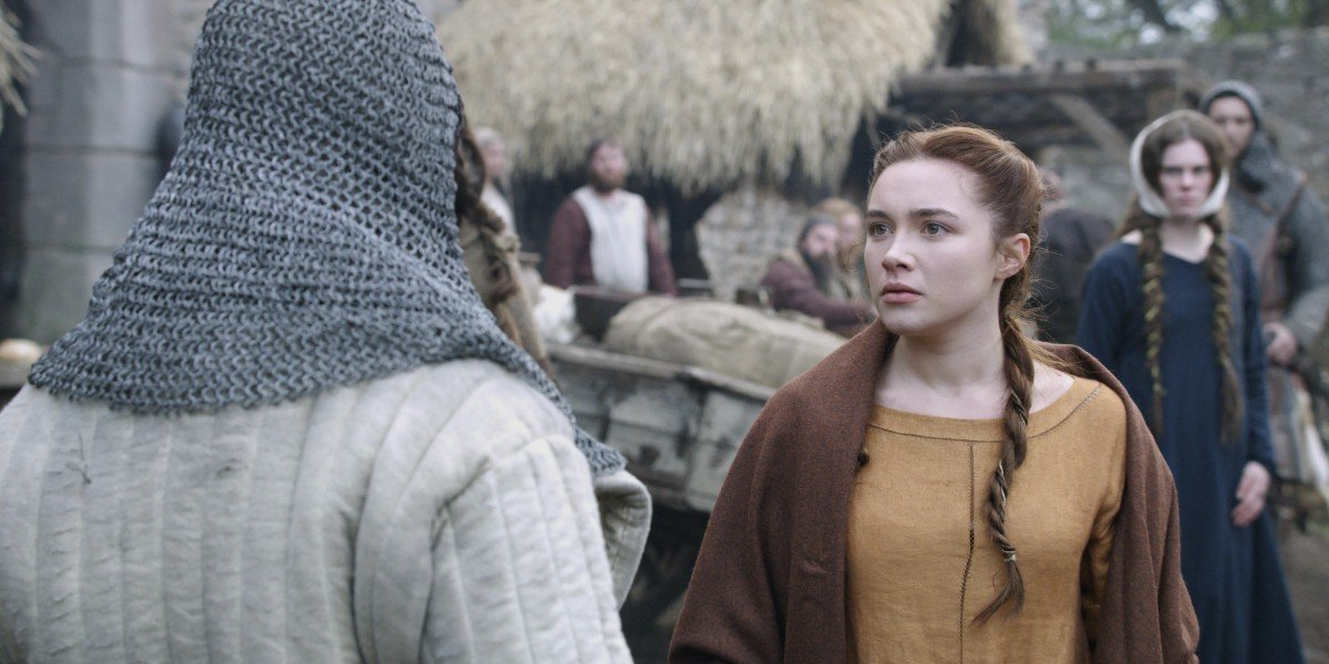 Florence Pugh in The Outlaw King