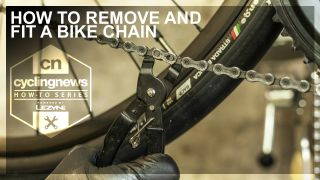 How to remove and fit a bike chain