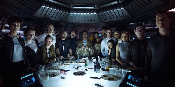 Alien Convenant cast