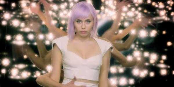 Miley Cyrus poses as Ashley O Black Mirror Netflix