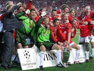 Man Utd 1999 Champions League final