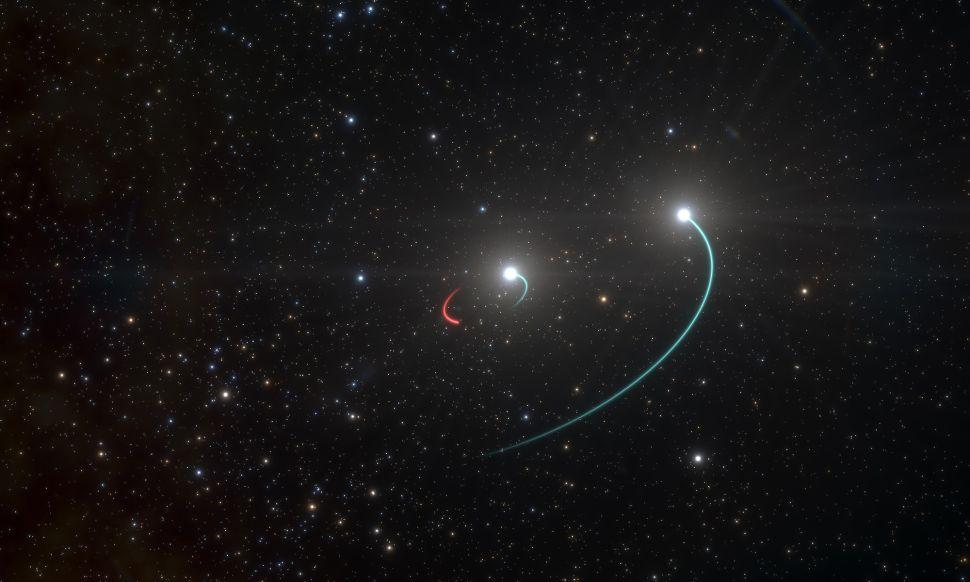 Ve vzdálenosti tisíc světelných let byla nalezena zatím nejbližší černá díra