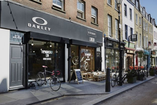 Oakley In Residence pop-up store opens in London - Cycling Weekly a07054962