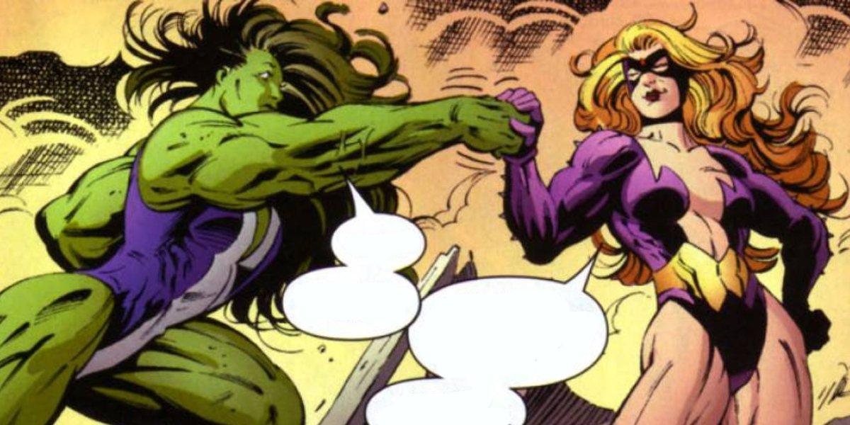 She-Hulk and Titania