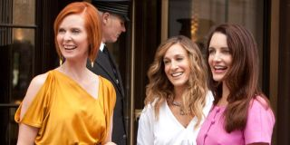 Cynthia Nixon, Sarah Jessica Parker, and Kristin Davis in Sex and the