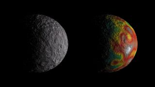 Ceres gravity field