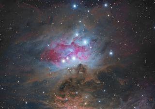 Running Man Nebula NGC 1977 Miller