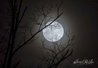 Full Moon of January 2015 Seen in West Virginia