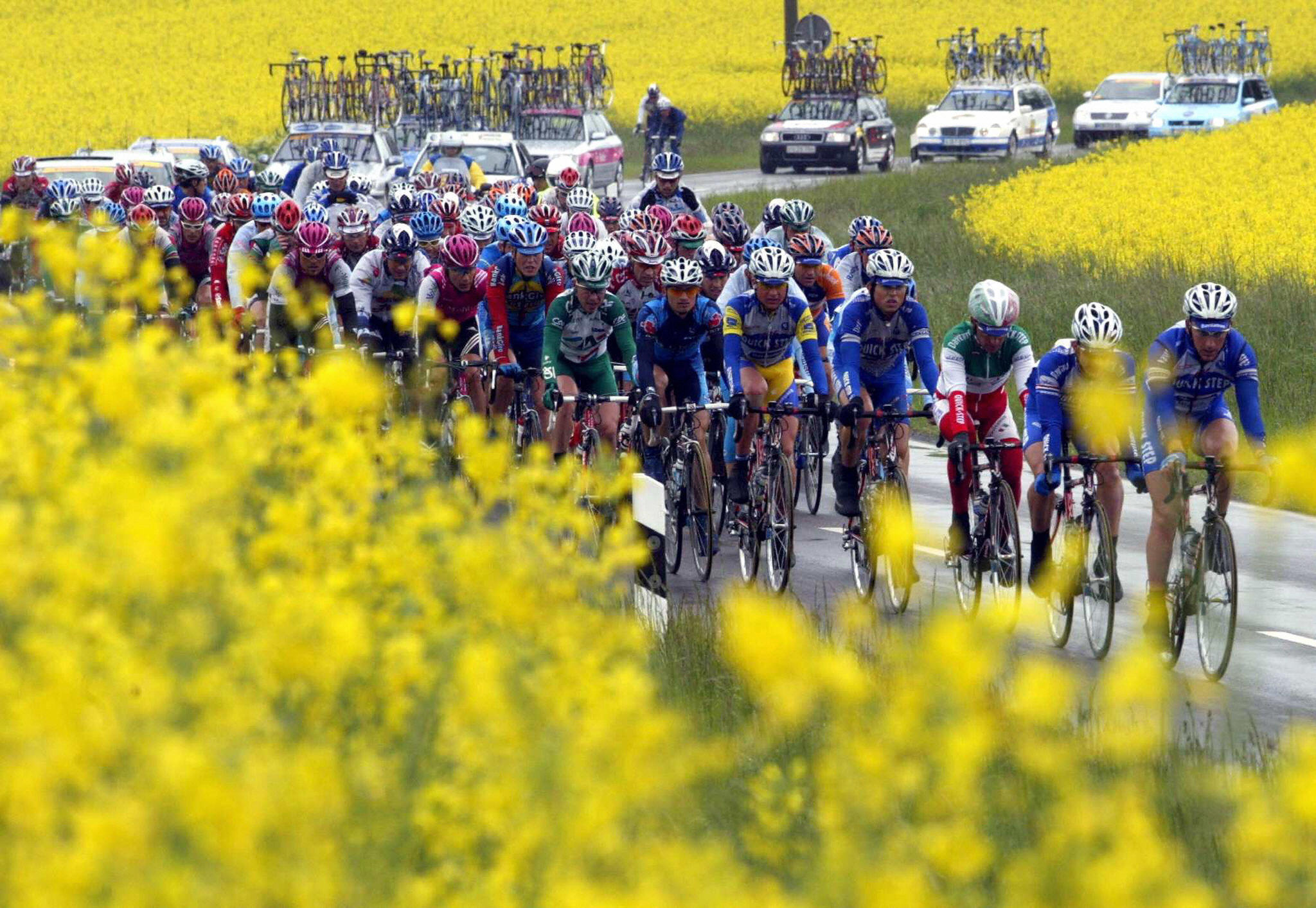 How to reduce the effects of hay fever when cycling