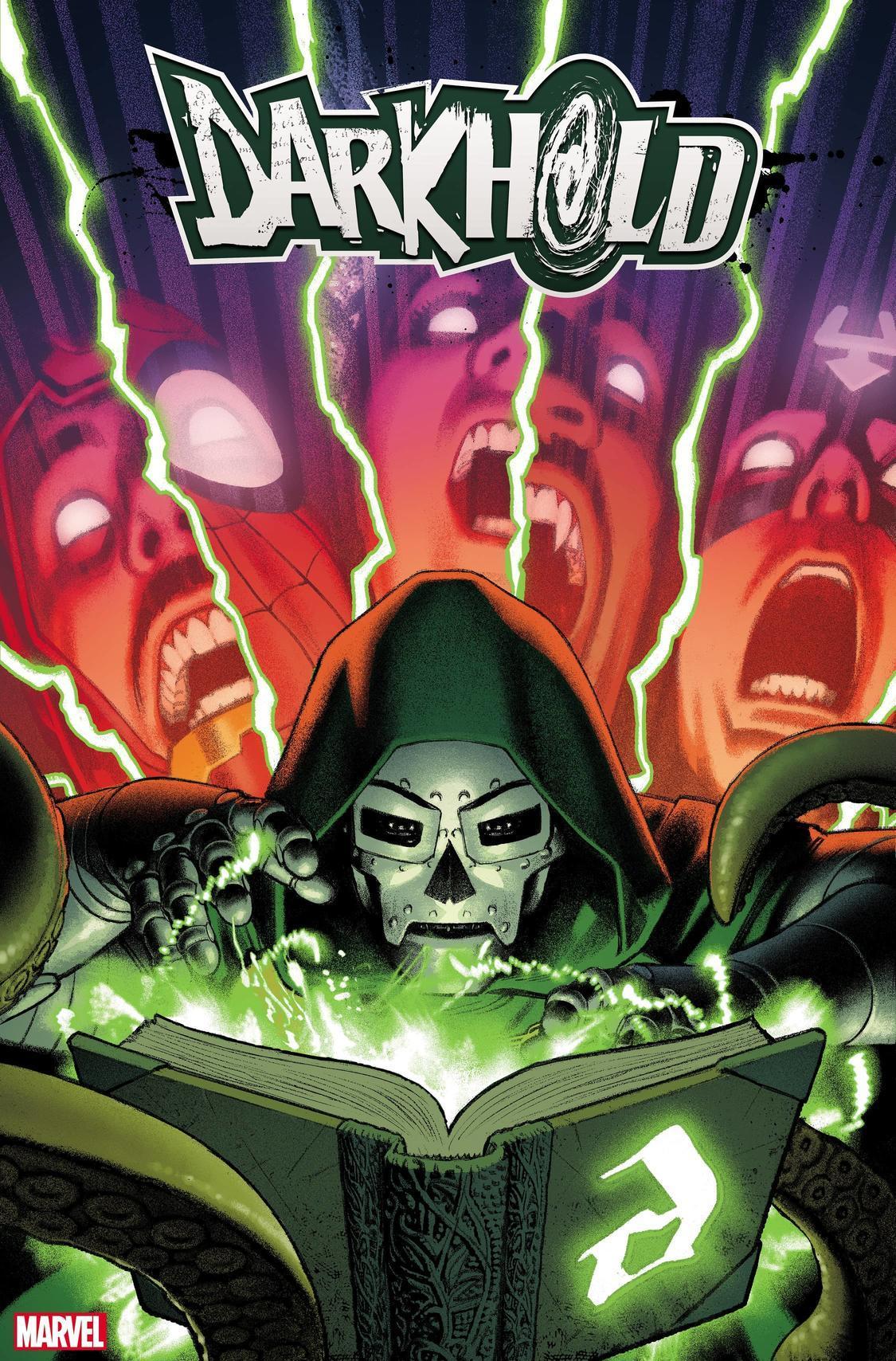 Portada de Darkhold Alpha # 1