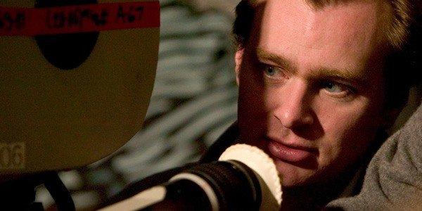 Christopher Nolan behind the camera