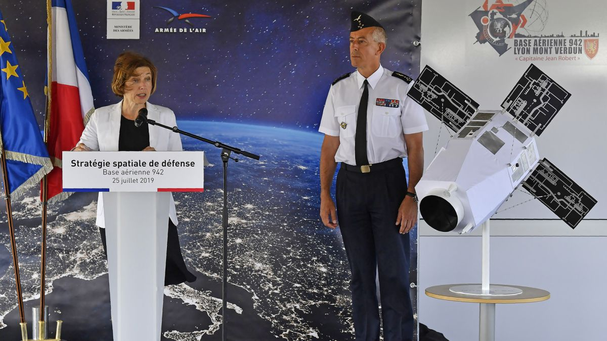 France Is Launching a 'Space Force' with Weaponized Satellites