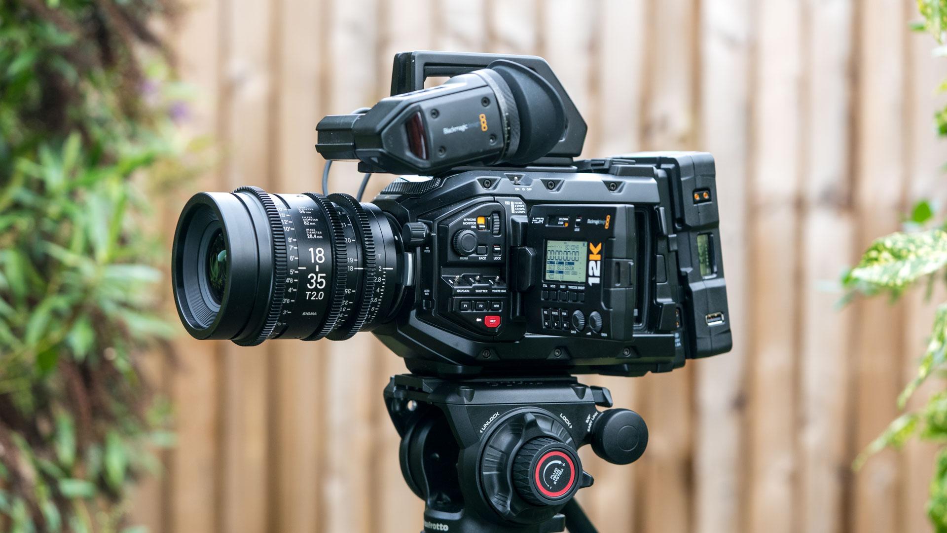 Blackmagic Ursa Mini Pro 12k Review Digital Camera World