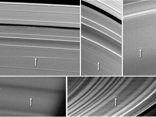 Saturn Dust Plumes