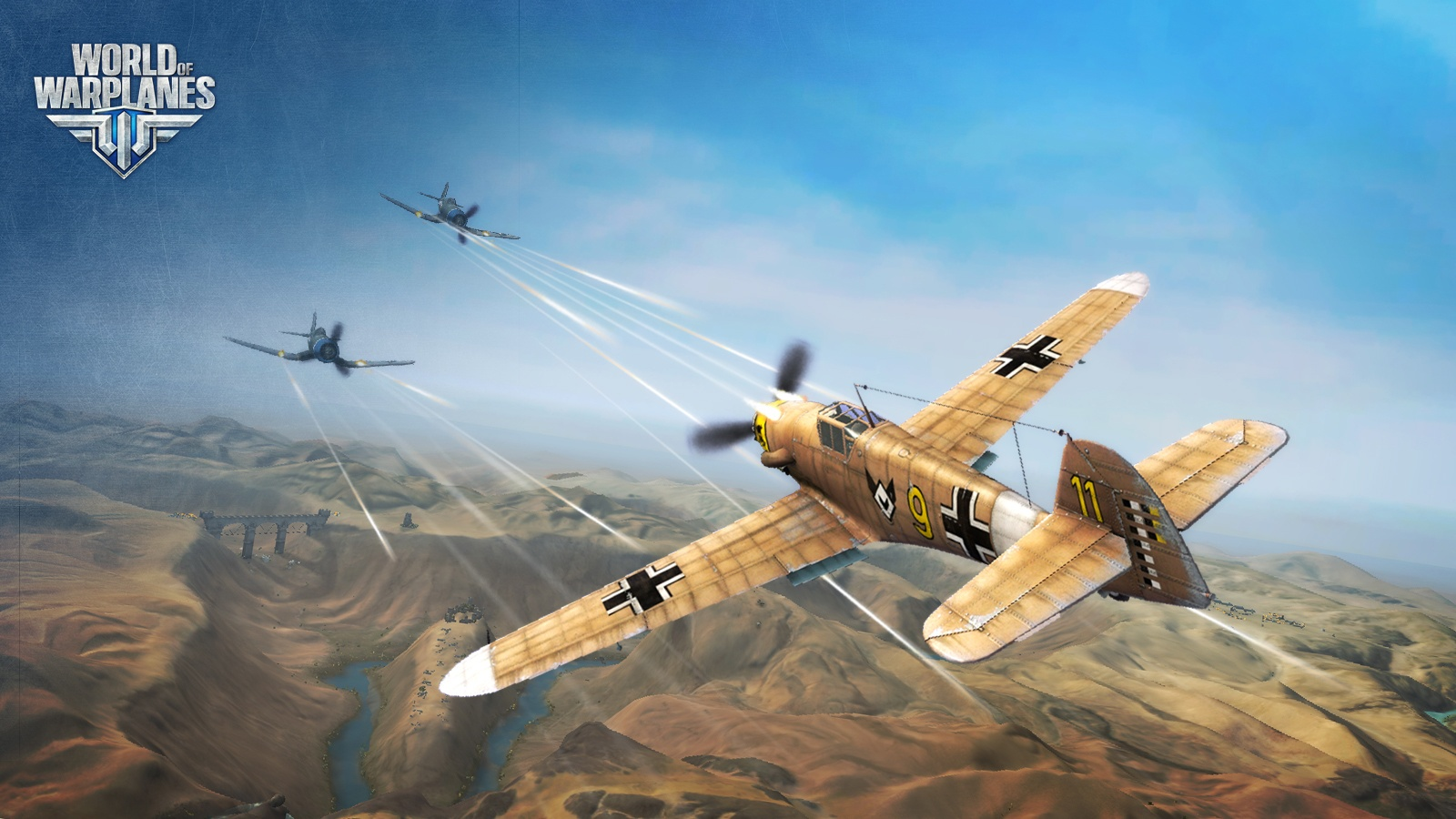 Plane Fighting Games >> World Of Warplanes Finally Launches Today Cinemablend