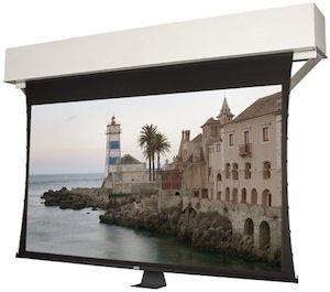 Da-Lite Adds Recessed Electric Screen