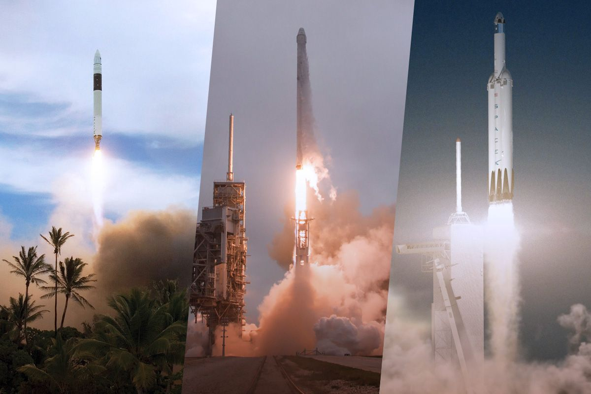 The History of Rockets | Space
