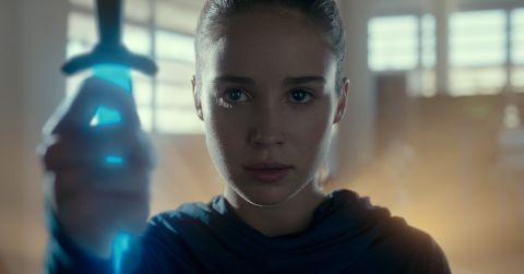 Alba Baptista as Ava Silva in Warrior Nun on Netflix