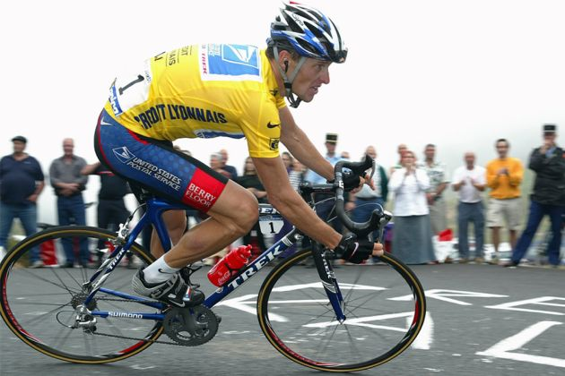 Armstrong at the 2003 Tour de France. Photo: Graham Watson
