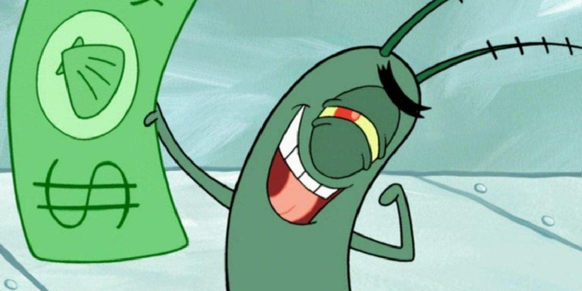 Plankton in Spongebob Squarepants.