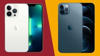 Kuvia iPhone 13 Prosta ja iPhone 12 Prosta