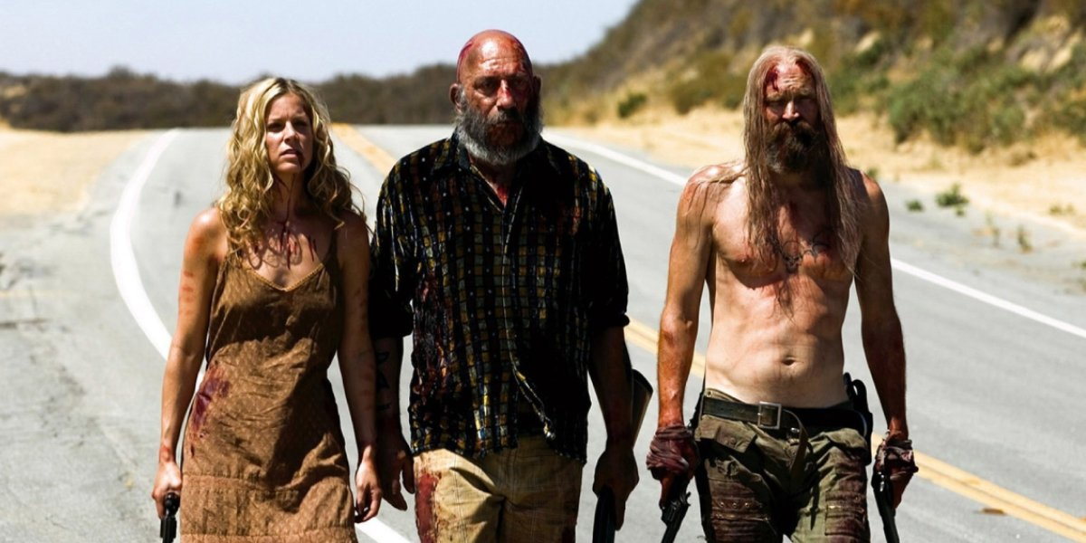 Sheri Moon Zombie, Sid Haig, and Bill Moseley in The Devil's Rejects